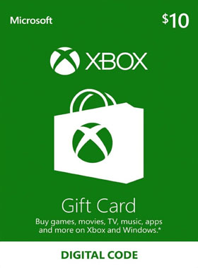 $10 Xbox Gift Card US