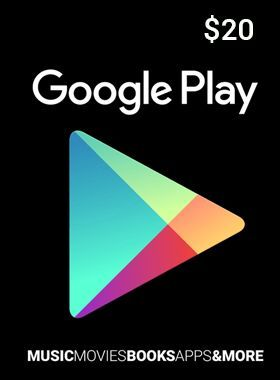 $20 Google Play Gift Card US