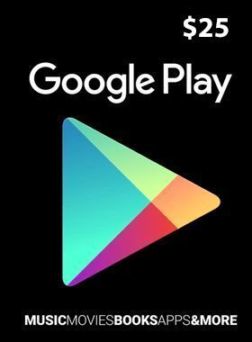 $25 Google Play Gift Code US