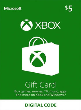 $5 Xbox Gift Card US