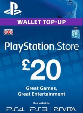 £20 PlayStation PSN Card UK