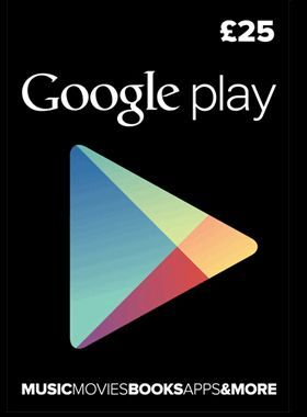 £25 Google Play Gift Card