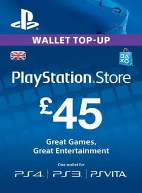 £45 PlayStation PSN Card UK