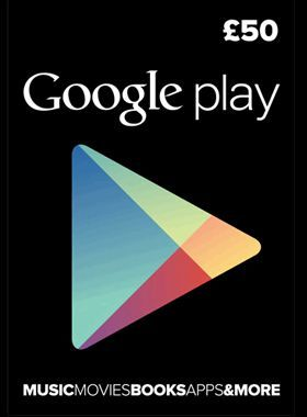 £50 Google Play Gift Card logo