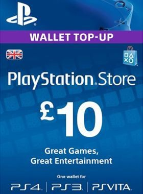 £10 PlayStation PSN Card UK