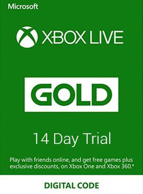 14 Day Xbox Live Gold Membership