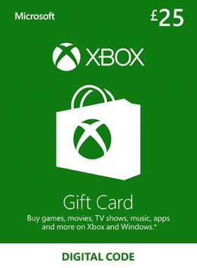£25 Xbox Gift Card UK logo