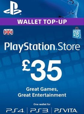 £35 PlayStation PSN Card UK