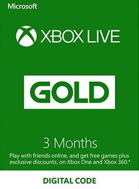 3 Month Xbox Live Gold Membership Offer logo