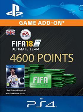 4600 FIFA 18 Points PS4 logo