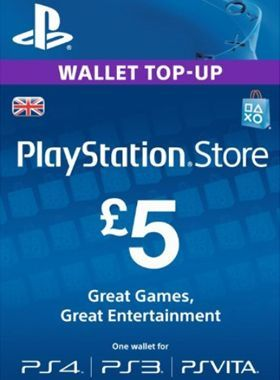 £5 PlayStation PSN Card UK