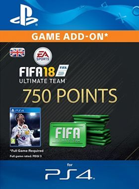 750 FIFA 18 Points PS4 logo