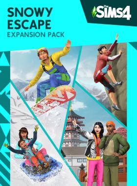 The Sims 4 - Snowy Escape DLC Origin CD Key