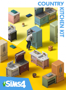 The Sims 4 - Country Kitchen Kit DLC Origin CD Key