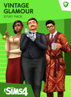 The Sims 4 - Vintage Glamour Stuff DLC Origin CD Key (EU)