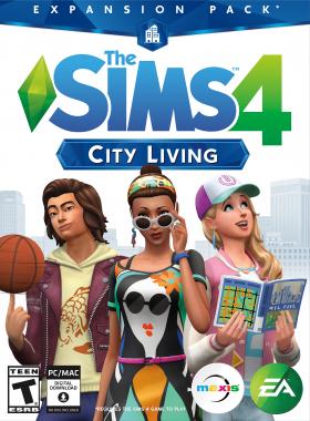 The Sims 4 - City Living DLC XBOX One CD Key (US)