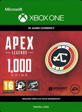 Apex Legends 1000 Coins Xbox One