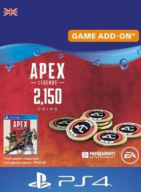 Apex Legends 2150 Coins PS4 logo