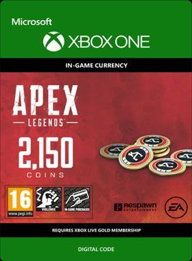 Apex Legends 2150 Coins Xbox One