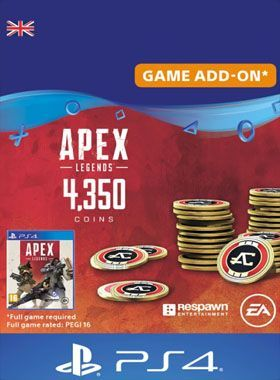 Apex Legends 4350 Coins PS4