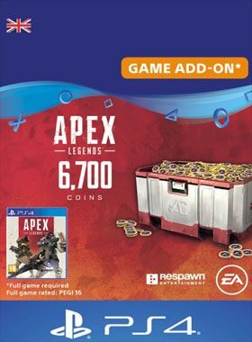 Apex Legends 6700 Coins PS4 logo