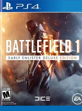 Battlefield 1 Digital Deluxe PS4 logo