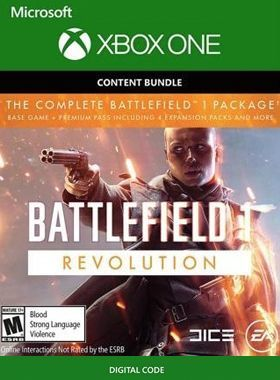 Battlefield 1 Revolution Xbox One logo