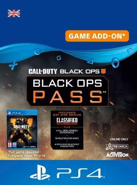 Call of Duty Black Ops 4 - Season Pass PS4