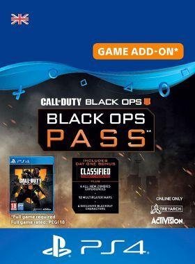 Call of Duty Black Ops 4 - Season Pass PS4