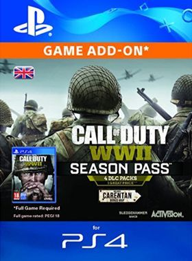 Call of Duty World War II Season Pass PS4 logo