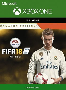 FIFA 18 Ronaldo Edition Xbox One Download Code