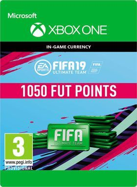 FIFA 19 Ultimate Team 1050 Points Xbox One logo