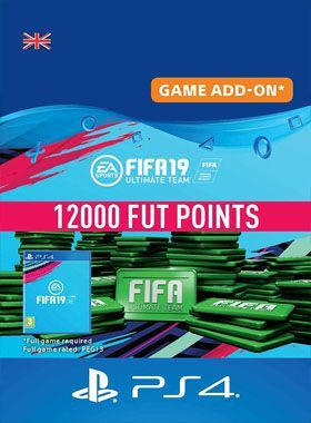 FIFA 19 Ultimate Team 12000 Points PS4