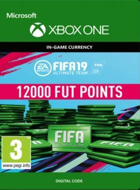 FIFA 19 Ultimate Team 12000 Points Xbox One logo