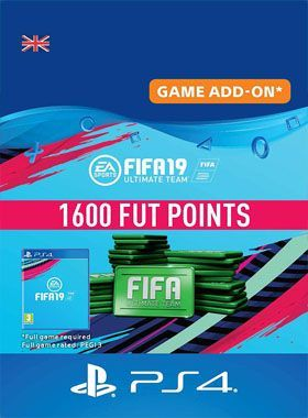 FIFA 19 Ultimate Team 1600 Points PS4