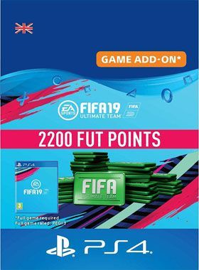 FIFA 19 Ultimate Team 2200 Points PS4 logo