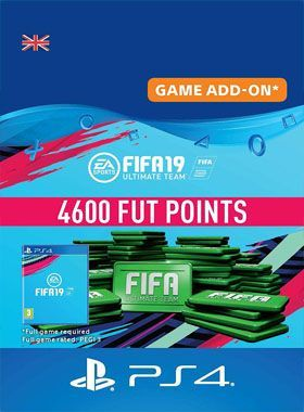 FIFA 19 Ultimate Team 4600 Points PS4 logo