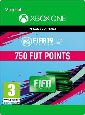 FIFA 19 Ultimate Team 750 Points Xbox One
