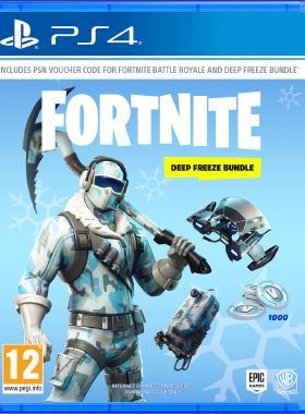 Fortnite Deep Freeze Bundle PS4 logo
