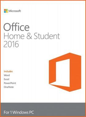 OFFICE HOME & STUDENT 2016 PC