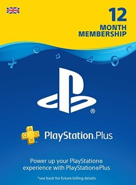 PS Plus 12 Month Membership UK logo