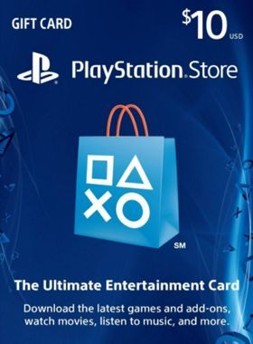 $10 PSN US Card