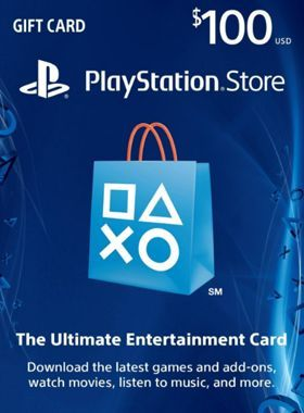 Playstation PSN $100 US Prepaid Code logo