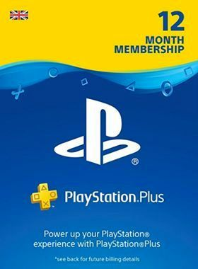 Playstation Plus 12 Month UK Offer