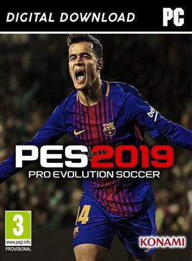 Pro Evolution Soccer (PES) 2019 PC logo