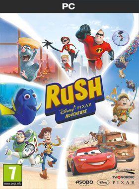 Rush: A Disney & Pixar Adventure PC logo