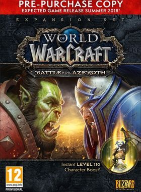 WoW Battle For Azeroth Pre Purchase Edition