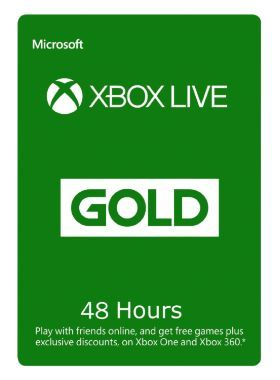 Xbox Live 48 Hour Trial