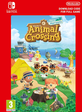 Animal Crossing New Horizons Switch Nintendo Digital Code Instant Delivery