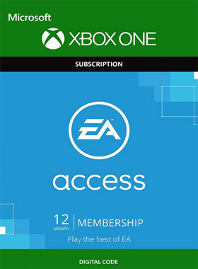 12 Month EA Access Subscription Membership Digital Download Code